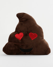 Pamper Hamper Heart P*O Emoji Brown