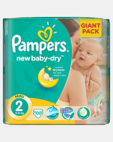 Pampers New Baby Mini Size 2 Giant Pack 100