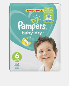 Pampers Active Baby XL Size 6 Jumbo Pack 44