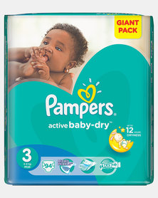 Pampers Active Baby Midi  Size 3 Giant Pack 94