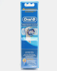 Oral B Refill EB20 Precision Clean 2ct Toothbrush Head