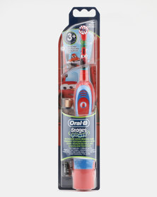 Oral B Stages Kids Battery Brush Cars Multi