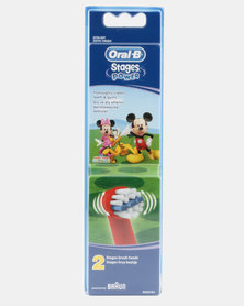 Oral B Refill - Stages Kids Mickey - 2ct