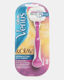 Gillette Venus & Olay Sugar Berry Razor 2 Up