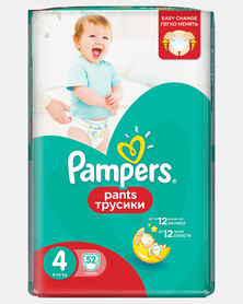 Pampers Active Baby Pants Maxi Size 4 Jumbo Packs 52