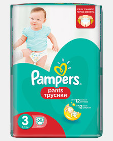 Pampers Active Baby Pants Midi Size 3 Jumbo Pack 60
