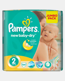 Pampers New Baby Mini Size 2 Jumbo Pack 94