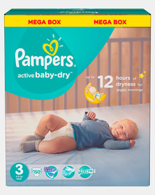 Pampers Active Baby Midi Size 3 Mega Pack 150