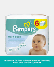 Pampers Baby Wipe Fresh 6s 6x67