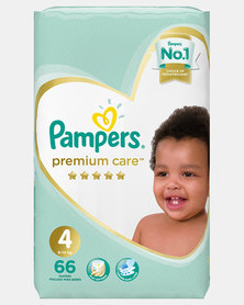 Pampers Premium Care Maxi Size 4 Jumbo Pack 66
