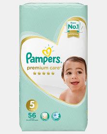 Pampers Premium Care Junior Size 5 Jumbo Pack 56