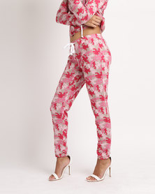 Brett Robson Ivy Camouflage Track Pants Pink