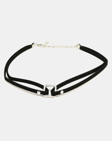 All Heart 3 Pack Choker Set Black