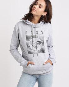Roxy Marinian Hoodie Sweatshirt Grey