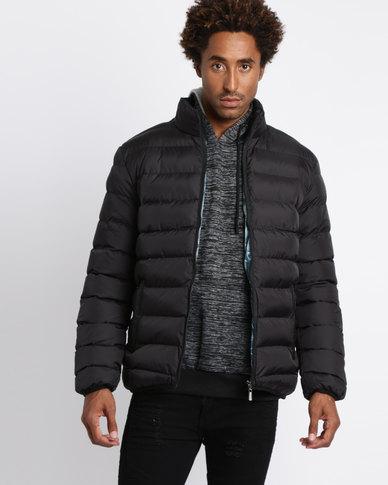bb2abf32b069 Utopia Basic Puffer Jacket Black