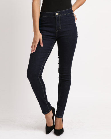 Utopia Basic Jeggings Dark Wash