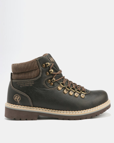 Renegade Renegade Boston Casual Boot Brown brand new unisex cheap online uyqUoaW