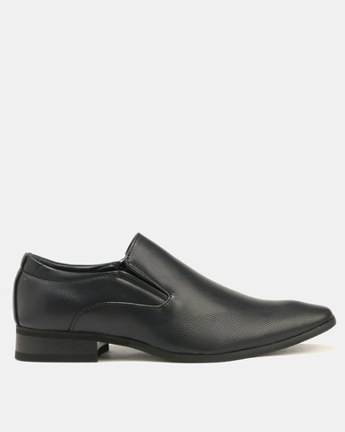 Baldini Formal Derby Slip On Navy