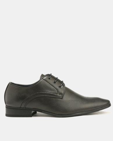 Baldini Formal Derby Lace Up Black