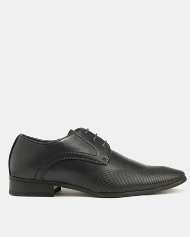 Baldini Formal Derby Lace Up Navy