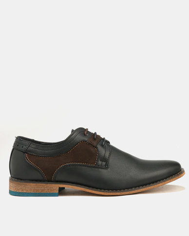 Baldini Derby Lace Up Blue