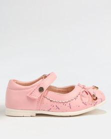 Bubblegummers Girls Casual Pumps Pink