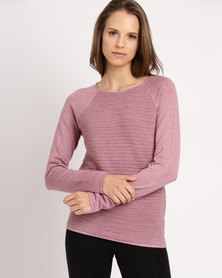 cath.nic By Queenspark Core Knitwear Berry