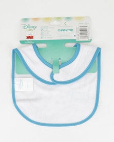 Character Brands Jersey Bib Mickey Mouse Blue