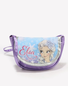 Character Brands Purse Bags Frozen Purple