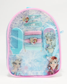 Character Brands Frozen Hair Accessories Gift Bag Blue