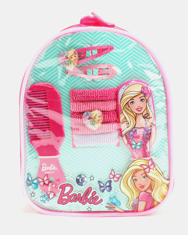Character Brands Barbie Hair Accessories Gift Bag Pink  b7d0f25d8