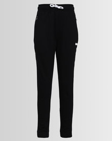 Converse Slim Drop Crotch Jogger Black