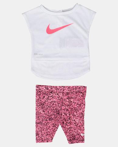 a6e049e3a8a5 Nike NK Girls Dri-Fit Sport Essentials Set Pink