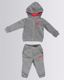 Nike Sportswear Club Hoodie & Pants Set Grey