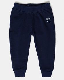 Parental Instinct Fleece Pants Navy