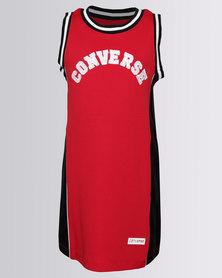 Converse Basketball Jersey Dress Red