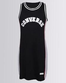 Converse Basketball Jersey Dress Black