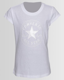 Converse CTP Shiny Silicone Tee White