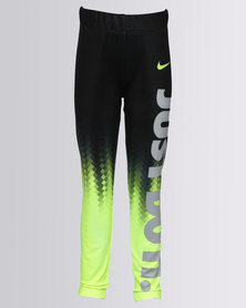 Nike NK Girls Dri-Fit Sport Essentials Pixel Leggings Black