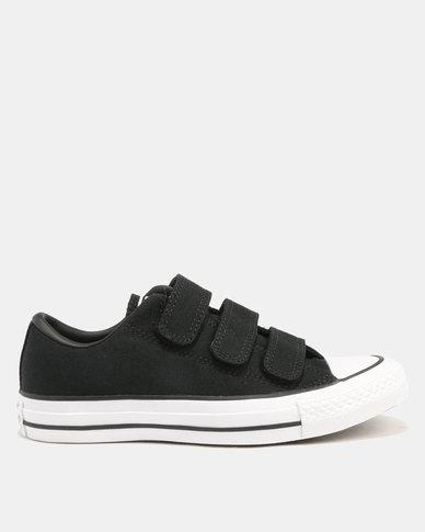 e8f58bedbcb6db ... Canvas Ox  Converse Chuck Taylor All Star 3V Canvas Sneakers  BlackBlackWhite big sale d1202 0d73f ...