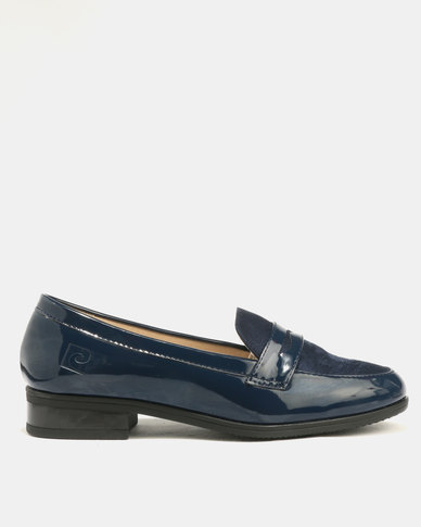 cheap sale big sale classic for sale Pierre Cardin Pierre Cardin Fabric Blocked Loafer Navy cheap sale free shipping nicekicks cheap price 9VbtFDsN