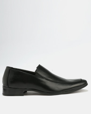 pictures cheap price popular for sale Malero Malero Formal Slip On Shoes Black 3Mcs8