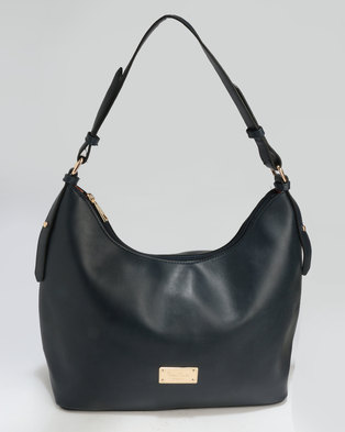 80b54a4992 Pierre Cardin Andrea Hobo With Cotton Lining Bag Navy