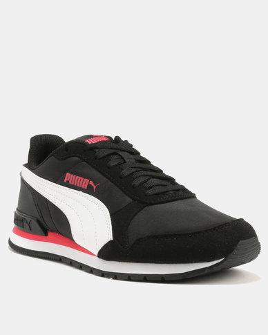0c66491b7c0 Puma ST Runner v2 NL Sneakers Black & White | Zando