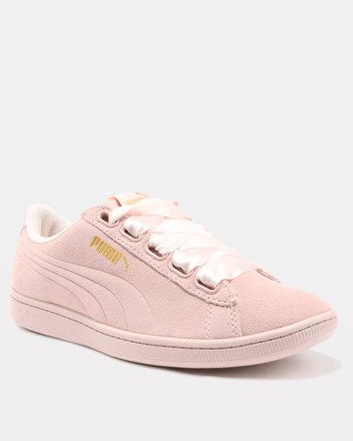 0164b4adf81 Puma Vikky Ribbon Sneakers Pearl-Pearl