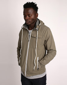 Deacon Tutor Jacket Khaki