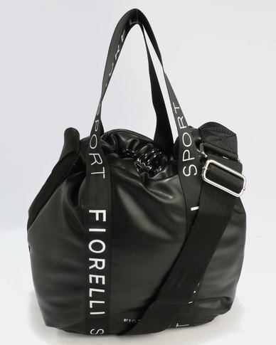 Fiorelli Ready Set Go Bucket Bag Black