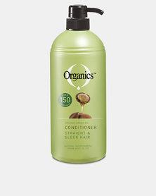 Organics Straight & Sleek Conditioner 1L