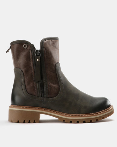 Bronx Women Bronx Women Jess Ankle Boots Grey free shipping many kinds of 2014 new online sale Cheapest XLKY5XR