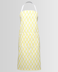 Casa Culture Geo Apron Yellow
